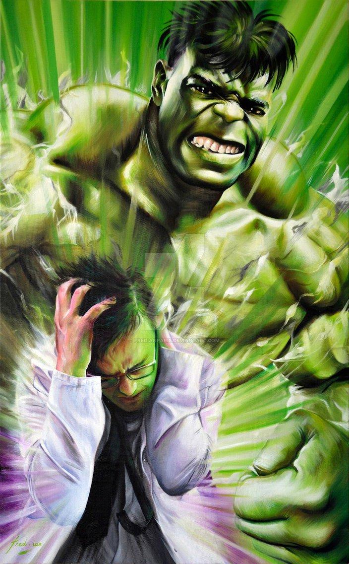 กำเนิด the hulk