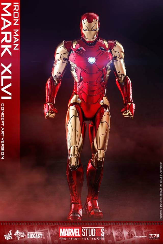 Hot toys Iron Man Mark XLVI ครบรอบ 10 ปี