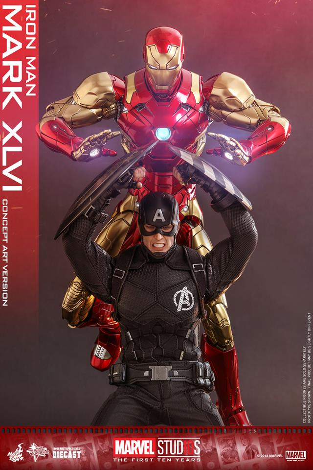 Hot toys Iron Man Mark XLVI