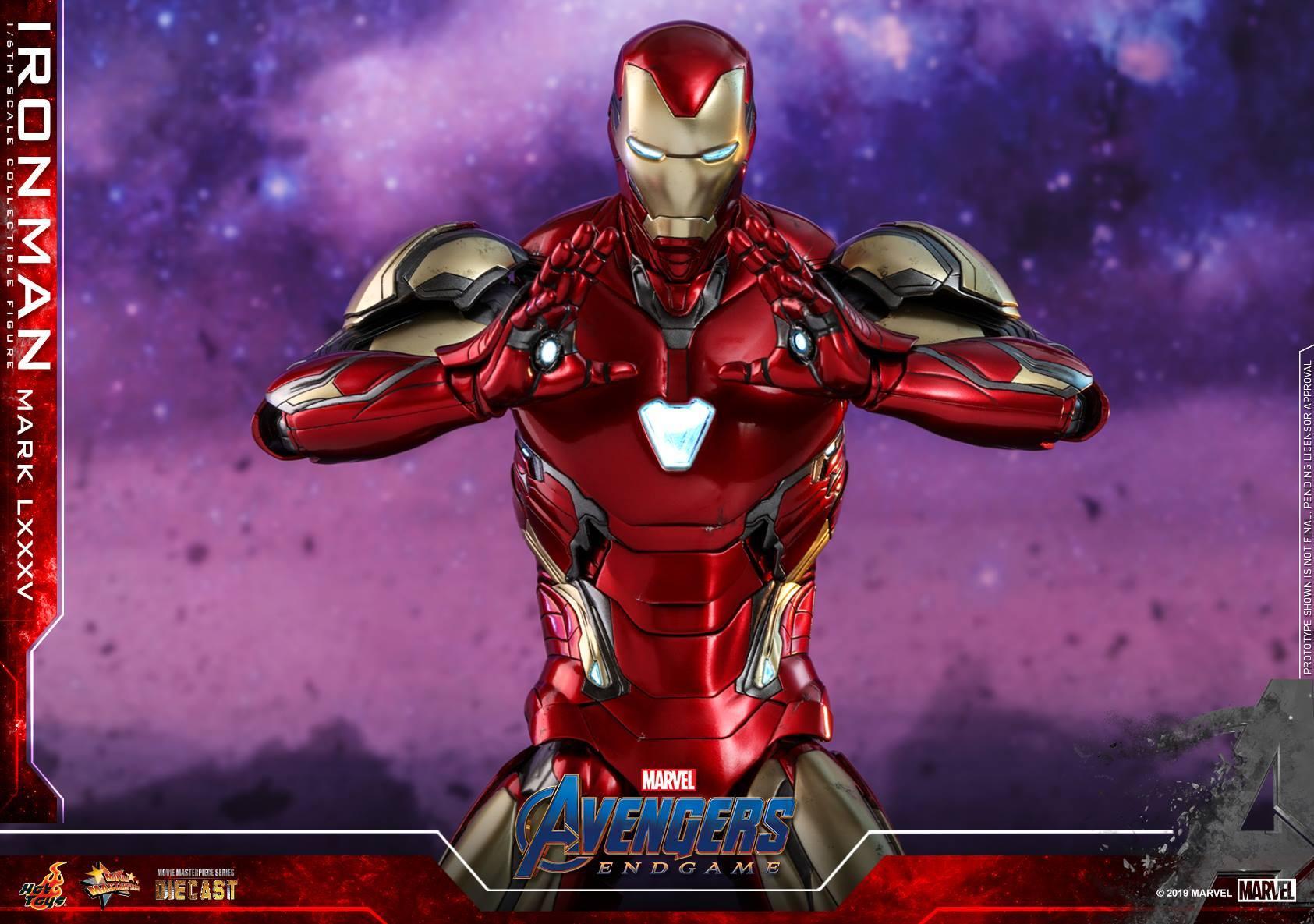 ชุดเกราะ Iron Man มาร์ค 85 Avengers Endgame