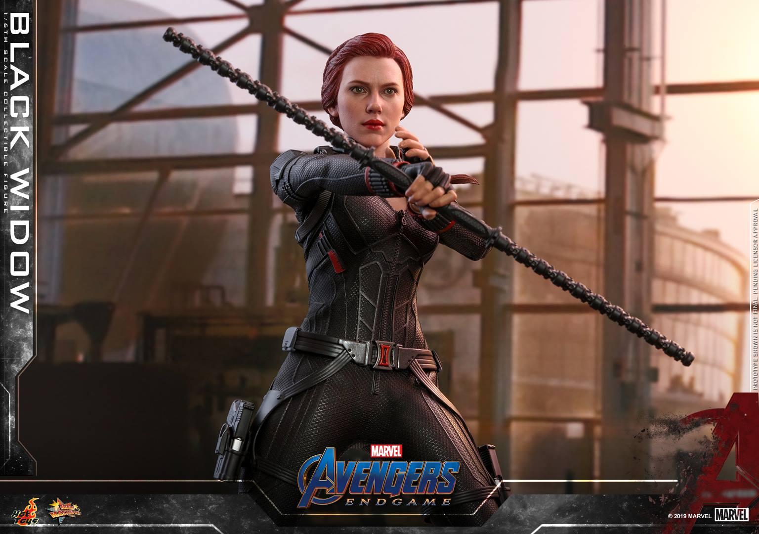 โดยมาในชื่อชุดว่า Hot toys Black Widow Avengers Endgame มาในความสูง 28 ซม.หรือสเกล 1/6