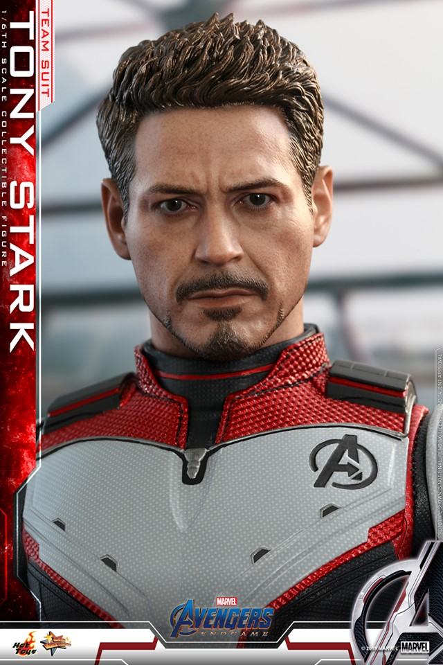 รีวิว Hot toys Tony Stark Team Suit Avengers Endgame