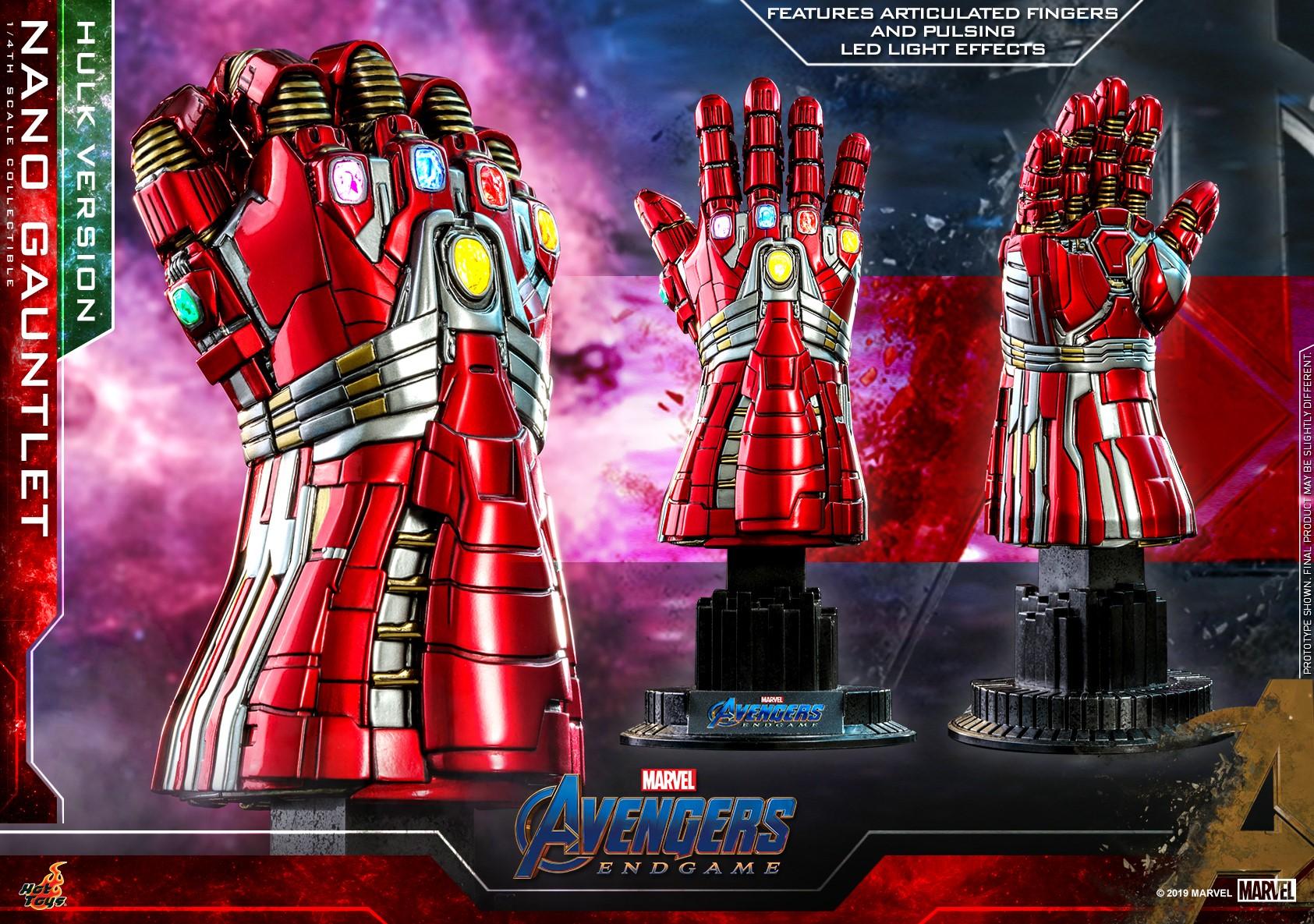 รีวิว Hot toys Nano Gauntlet Avengers: Endgame