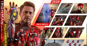 Hot toys Iron man Mark LXXXV Battle Damaged Version