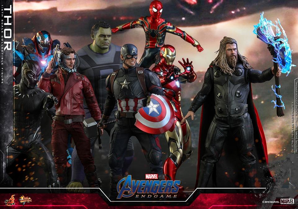 Hot toys MMS557 Thor-Avengers Endgame