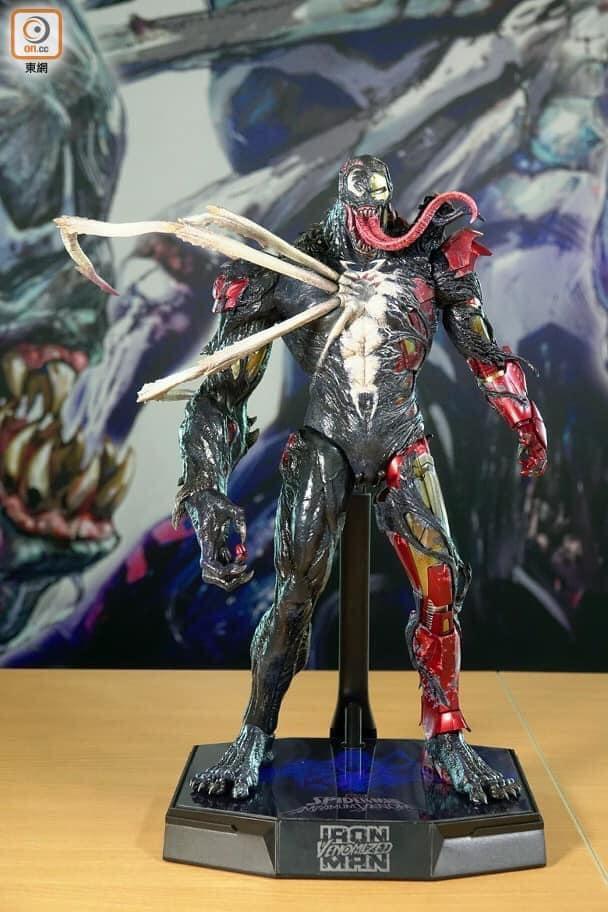 ต้นแบบ Hot toys Venomized Iron Man