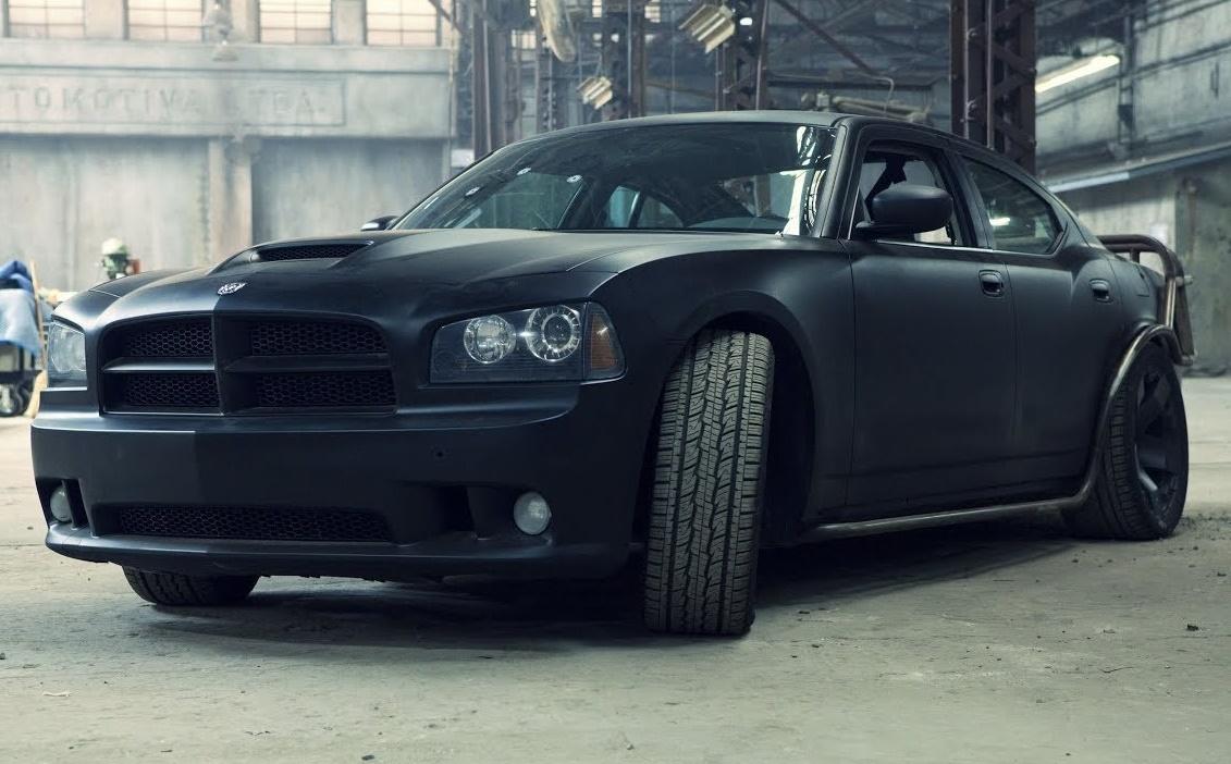 Dodge Charger SRT8 สีดำ