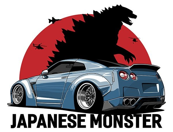 Skyline GT-R Godzilla