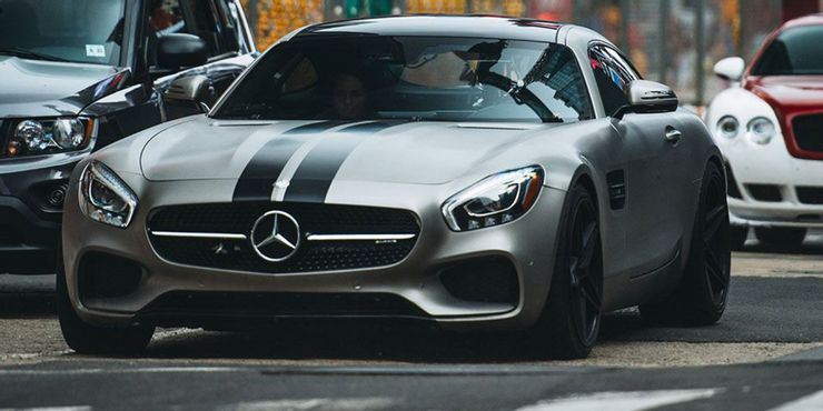 Mercedes AMG GT S ปี 2016