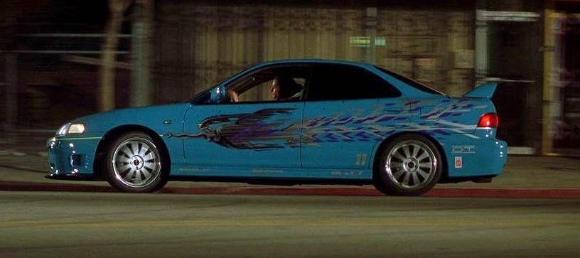 Honda Intergra สีฟ้า ปี 1994