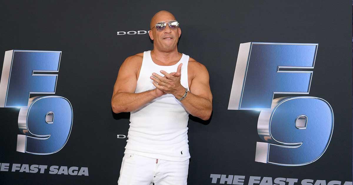 Vin Diesel Fast Saga