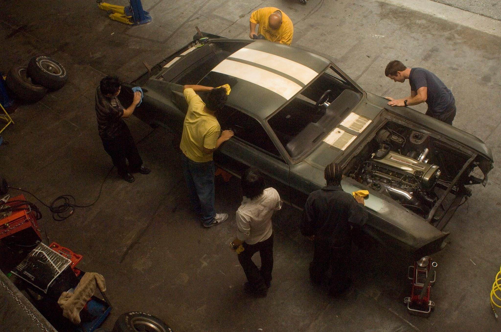 รวมรถซิ่ง ฌอน บอสเวลล์ จากฟาส